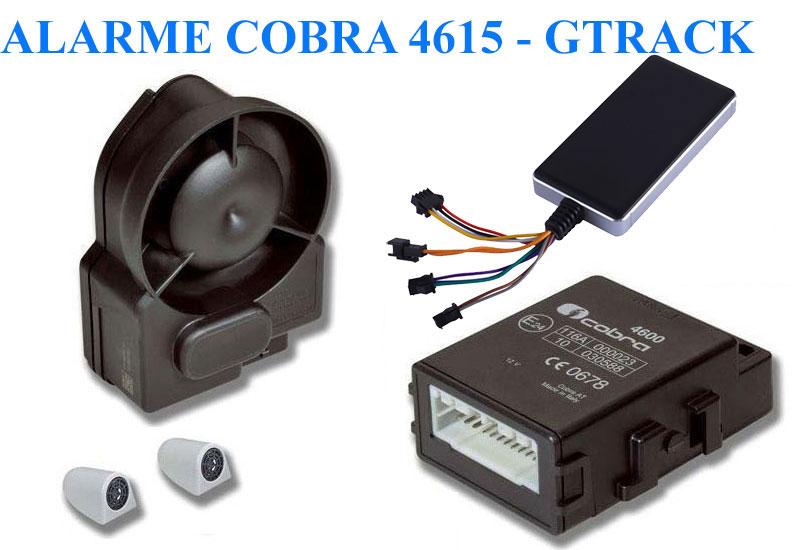 alarme cobra 4615 traceur gps imotrack cabriolet utilitaire. Black Bedroom Furniture Sets. Home Design Ideas