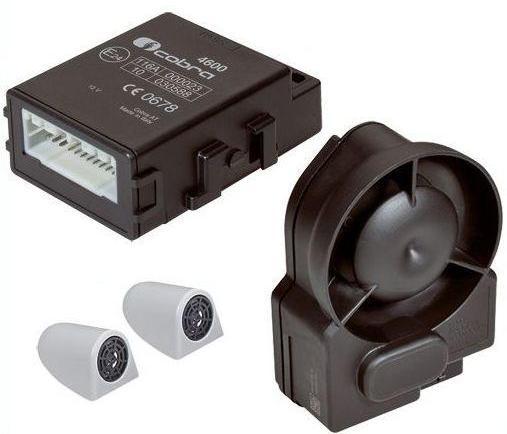 gamme complete alarme cobra 4615 can bus avec sirene sans fil. Black Bedroom Furniture Sets. Home Design Ideas