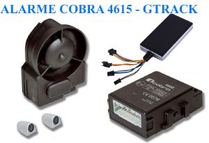 Alarme Cobra 4615 GPS Can Bus - Pack 8 - Driver Card